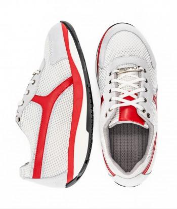 Tech bianco rosso