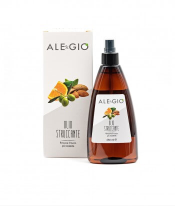 Makeup remover oil