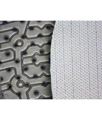 Insoles in silver fiber