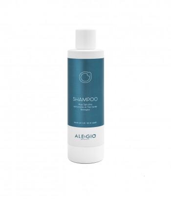 Shampoo alga spirulina ed estratto di thè verde biologico